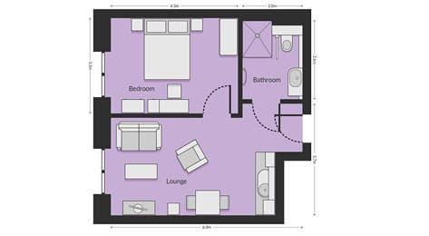 One-Bed Apartments